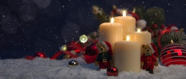 Prettige kerstdagen en nieuwjaarsvakantie achtergrond