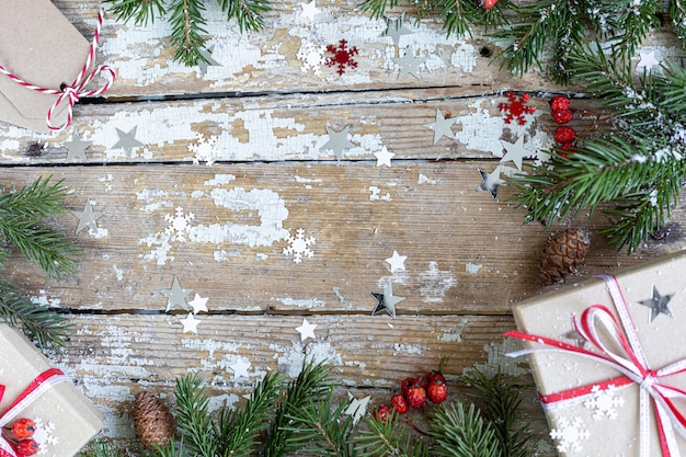Prettige kerstdagen en prettige feestdagen achtergrond