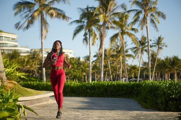 Pretty jogging vrouw