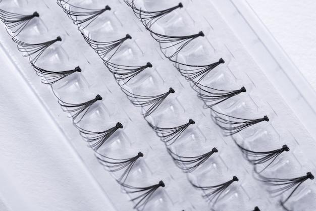 Prifessional set van valse wimpers, close-up