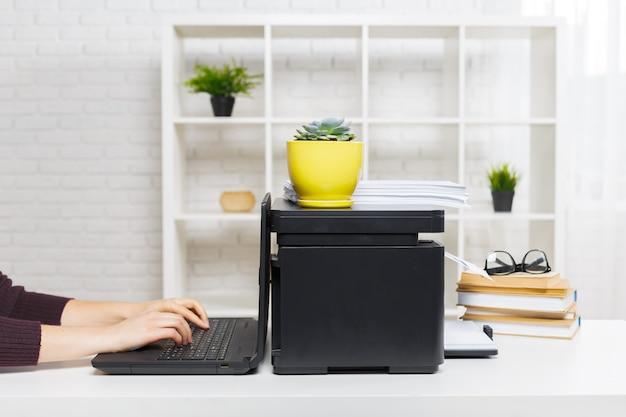 Printer op kantoor