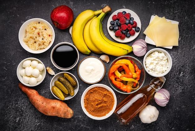 Probiotische en prebiotische voedingsmiddelen