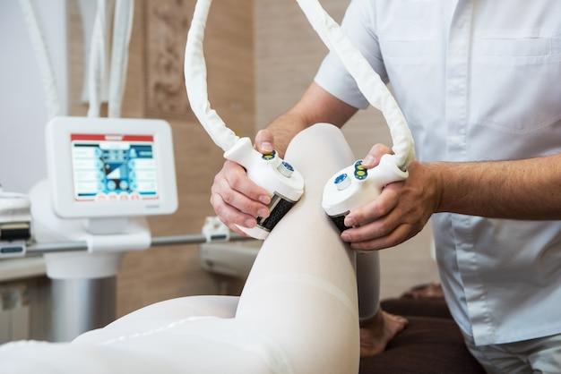 Procedure laserlipolyse