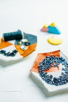 Proces van het maken van sieraden