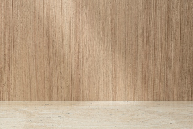 Productachtergrond in licht japans hout