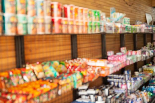 Producten in supermarkten