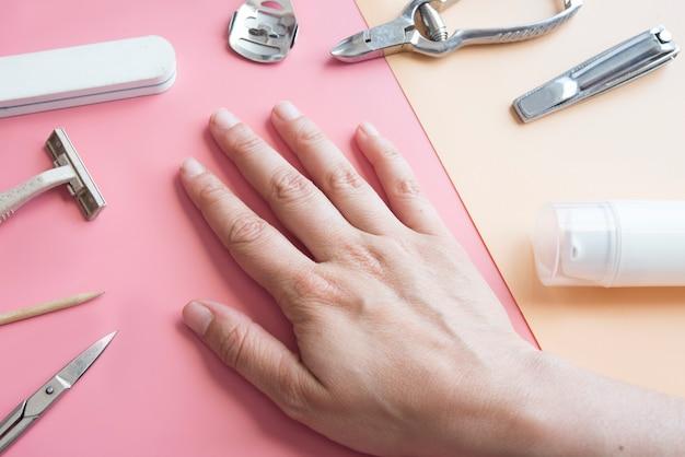 Producten voor manicure