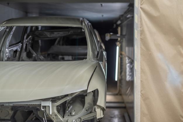 Productielijn van autofabriek