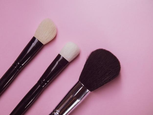 Professionele borstels voor mascara en poeder