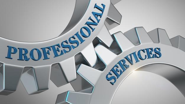Professionele diensten achtergrond