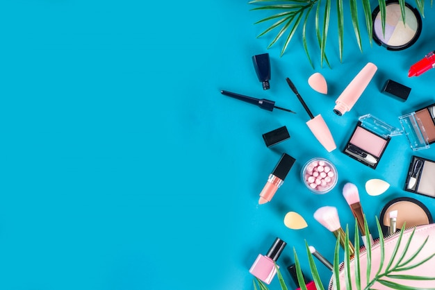 Professionele make-up cosmetische set