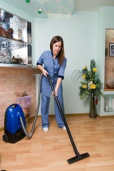 Professionele schoonmaakdienst