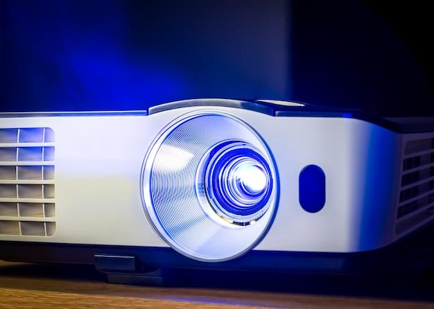 Projector voor presentatie