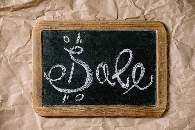 Promotie verkoop concept