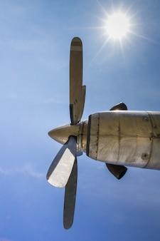 Propeller oud ontmanteld