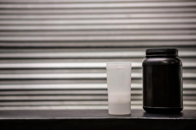 Proteïne poederdrank en kolf