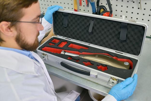 Prothetische technicus verpakking prothetische been
