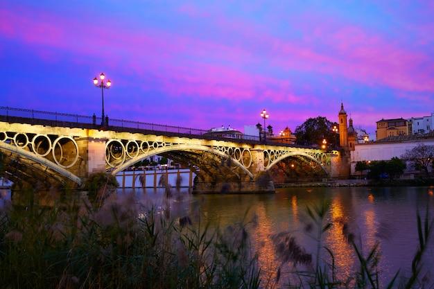 Puente isabel ii-brug triana sevilla spanje