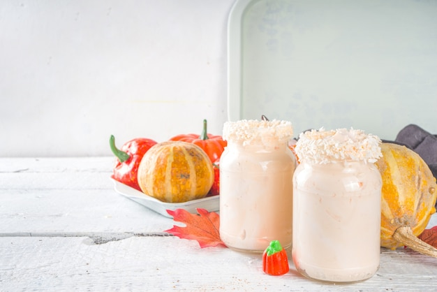 Pumpkin pie-shooters