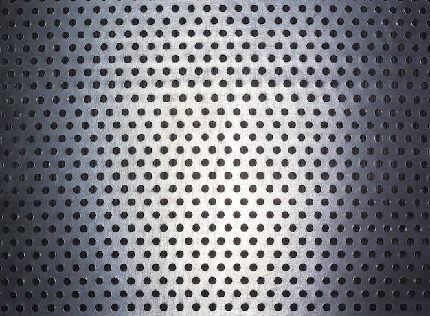 Puntpatroon en textuur op staal