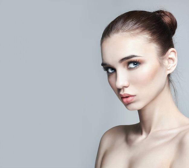 Pure perfecte huid en natuurlijke make-up, huidverzorging