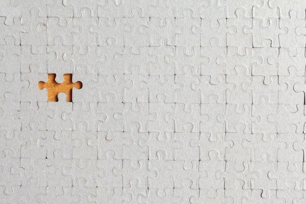Puzzel mist een stukje