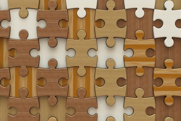 Puzzel patroon achtergrond