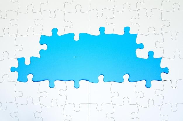 Puzzelstukjes frame