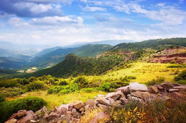 Pyreneeën bergen landschap