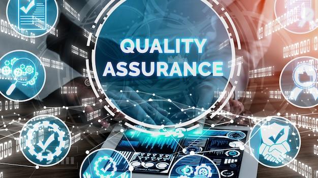 Qa kwaliteitsborging en kwaliteitscontrole conceptueel