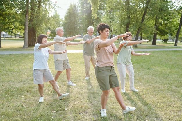Qigong-oefening doen