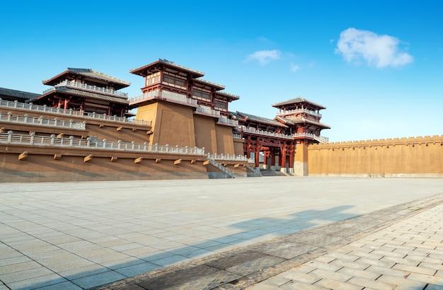Qin en han oud stadspark, guizhou