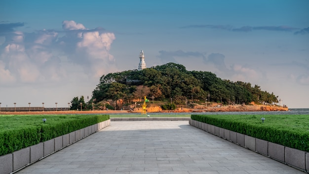 Qingdao's prachtige kustlijn en stedelijke architectuur