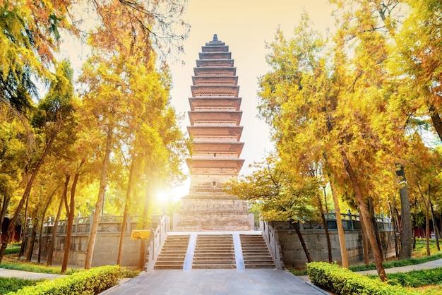 Qiyun-pagode in baima-tempel, luoyang