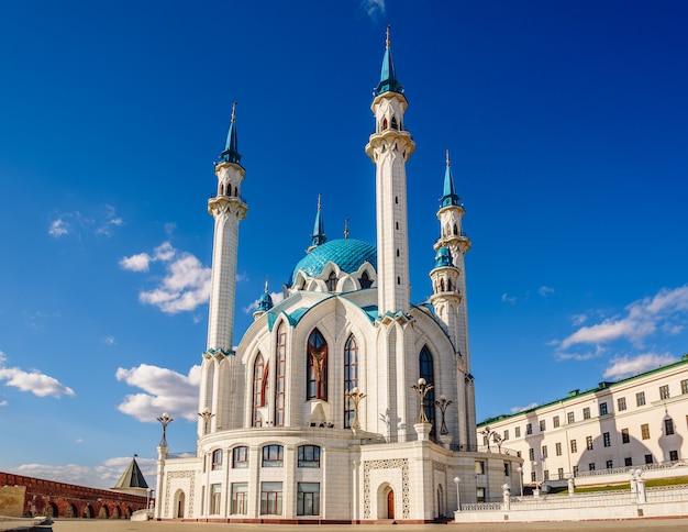 Qol sharif-moskee in het kremlin van kazan