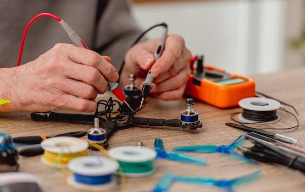 Quadcopter-reparatieproces