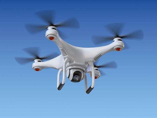 Quadrocopter-drone met de camera
