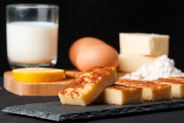 Quesada een typisch cantabrisch dessert ingrediënten voor de uitwerking ervan