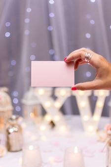 Quinceañera feest lege kaart