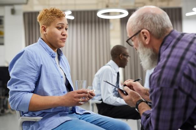 Raadpleging van geestelijke gezondheid