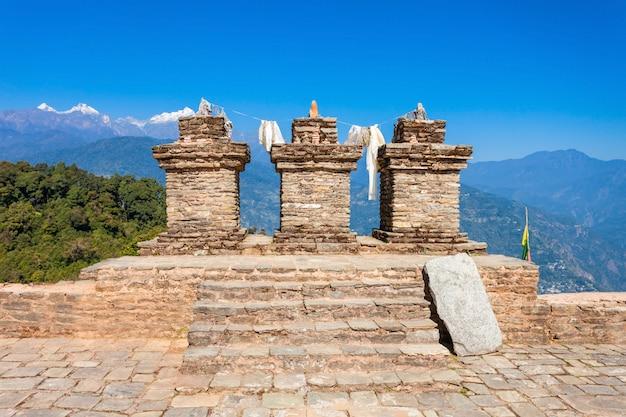 Rabdentse ruins, pelling