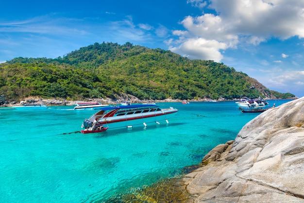Racha (raya) eiland, thailand