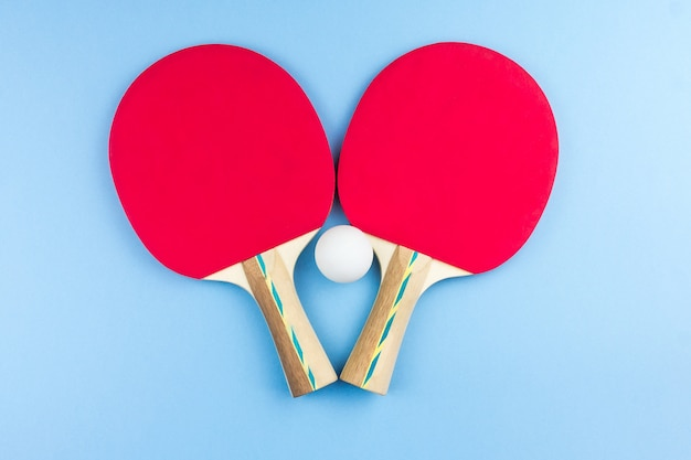 Rackets voor tafeltennis