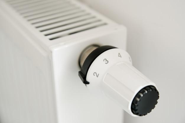 Radiatorknop voor het aanpassen van de temperatuur