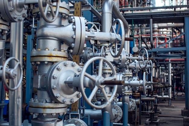 Raffinaderij apparatuur pijpleiding olie- en gaskleppen bij gasfabriek druk veiligheidsklep selectief