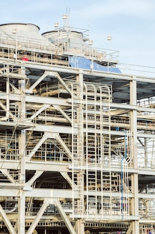Raffinaderij fabriek met lng