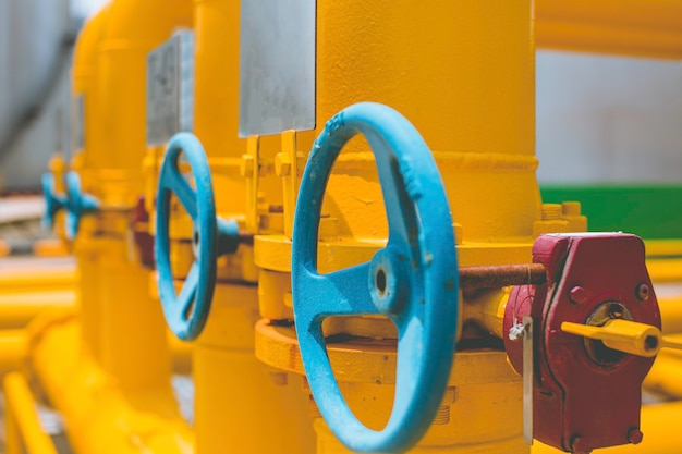 Raffinaderijapparatuur voor pijp gele lijn olie- en gaskleppen bij gasfabriek druk veiligheidsklep selectief