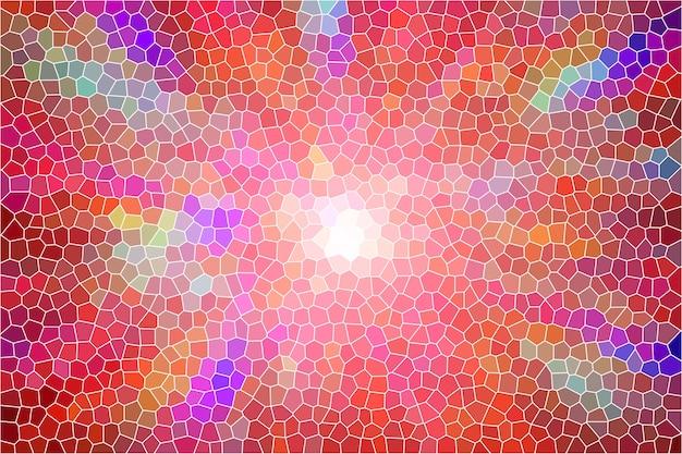 Rainbow mozaïek abstracte textuur achtergrond, patroon achtergrond zacht vervagen behang