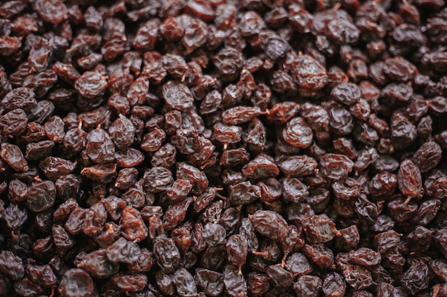 Raisin textuur