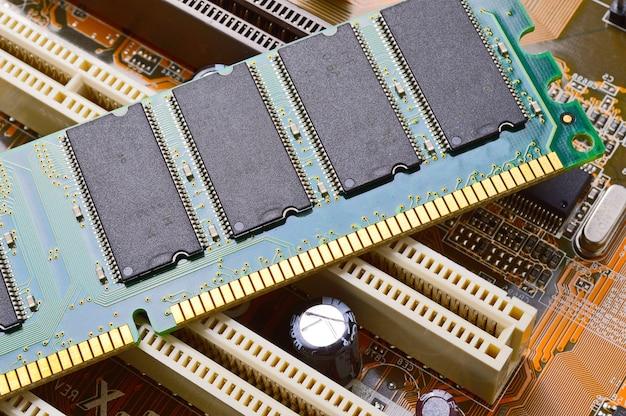 Ram-modules op het moederbord
